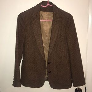 Oscar de la Renta gorgeous vintage tweed blazer!!!